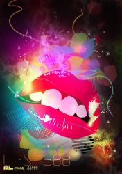 Lips 1988 by Staydecent