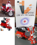 Vespa complete 5 by VulpineDesignsULTD