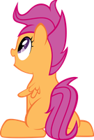 Amazed scootaloo by IAmADinosaurRARRR