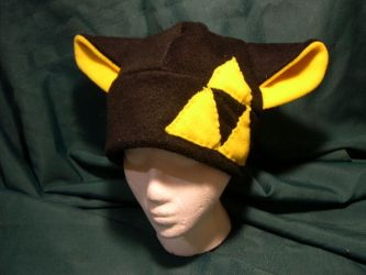 Yellow Triangle Hat by kittyhats