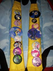 my pin collection by Blazefire21