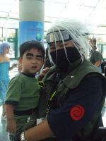 Cosplay Kakashi and Rock Lee by utenafangirl