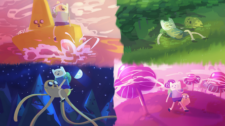 Adventure Time - Complete by Lallelol