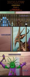 Hollow Chapter 3 -Page 1- Lock Up by EricHollobaughArt