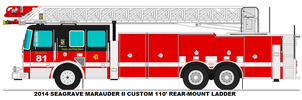 Chicago Fire New Updated Version Of Truck 81 by PortalStar41