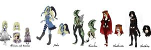 Void characters 2 by Lily-pily