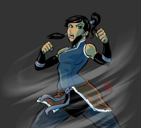 Korra commission by chachaman