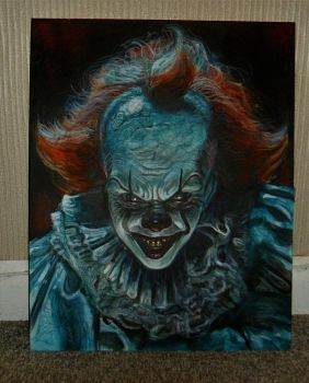 STEPHEN KING'S IT PENNYWISE THE CLOWN A1 by Legrande62