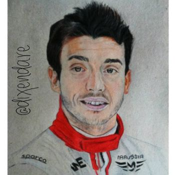 Jules Bianchi by dixendare