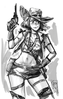Cowgirl 14 by KarlaDiazC