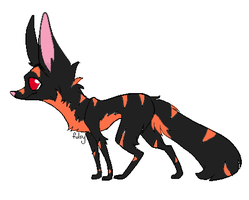 Fox Adoptable Only 1 Point CLOSED by ShadowhawkArt