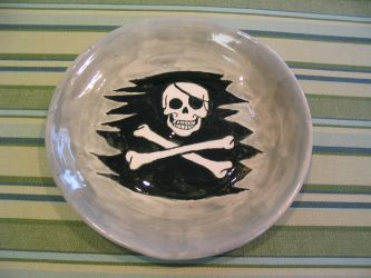 Mini Jolly Roger plate by R777man