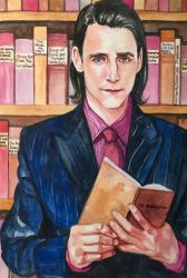 Loki, the Librarian by golikethat