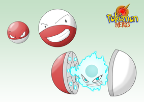 voltorb, electrode and Atomizor