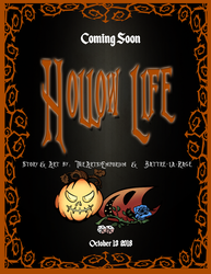 Hollow Life Webcomic - Coming soon by TheArtsyEmporium
