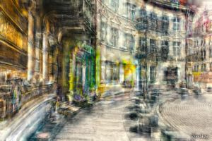 In the footsteps of old Gdansk townhouses 22 by wiwaldi24