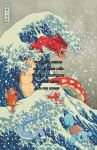 The Great Wave Off Kanto (redone) I by missypena
