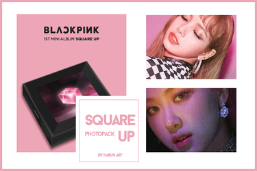 [PHOTOPACK] SQUARE UP by LuunaHaruna