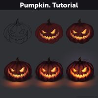 Pumpkin. Tutorial by Anastasia-berry