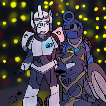 My Transformer characters... by Candytiger2006AJ