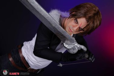 Me as Squall Leonhart by Paxfield