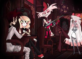 Human is in hazbin hotel! by Lugia98