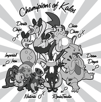My Champions of Kalos by OddPenguin