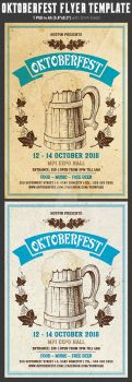 Oktoberfest Flyer Template by Hotpindesigns