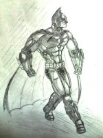 Arkham Origins - BATMAN by jay911sf