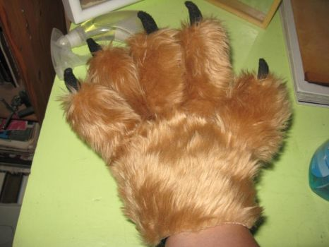 Paw glove 1 by RNuclearCookies