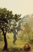 Lemon garden (comm) by Koviry