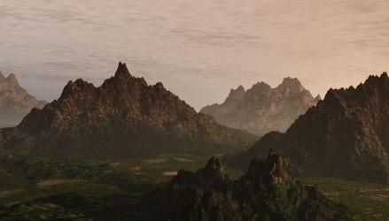 Canyon by Araqnid