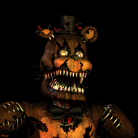 Nightmare Freddy V2 by HectorMKG