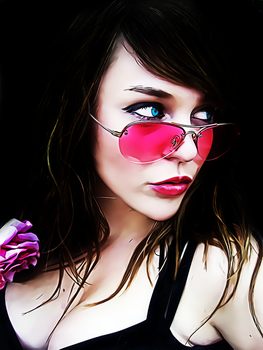 Pink Glasses by donvito62