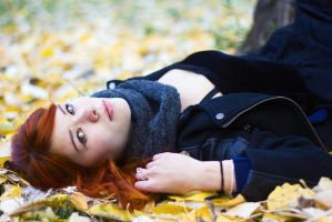 Orange autumn by oleggirl