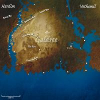 Galdree Map by lordsethos