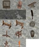 Dungeon props by dddkhakha1