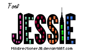 Font Jessie by MiliDirectionerJB
