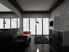 Living Room Modern by dandygray