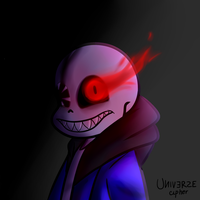Evil Sans [icon request] by UniverseCipher