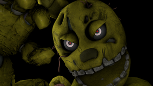 SFM-FNAF Springtrap Animation by PFT-Production