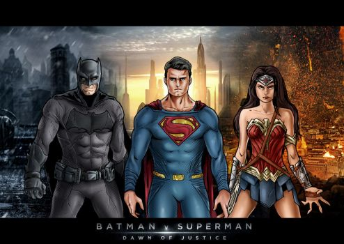 BATMAN V SUPERMAN: Dawn Of Justice by Nezotholem