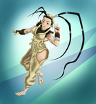 Ibuki the charming kunoichi. by Leo-Syron