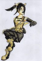 Allison Angel Full Body - BATIM AU by E-Tiger