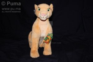 Adult Nala plush by Applause by dapumakat