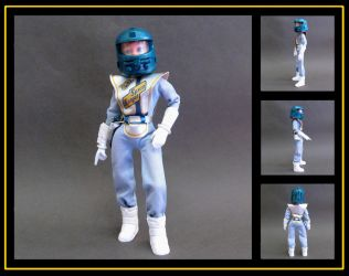 action girl space ranger(see description for video by nightwing1975