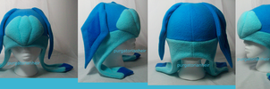 Glaceon Fleece Hat- For Sale by PurgatorianHeir