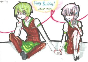 CLAC : Happy SUPER DUPER LATE Birthday~!! by Ndasa