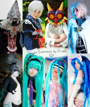 My cosplays by Viveeh