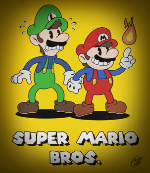 Classic Super Mario Brothers! by Zieghost